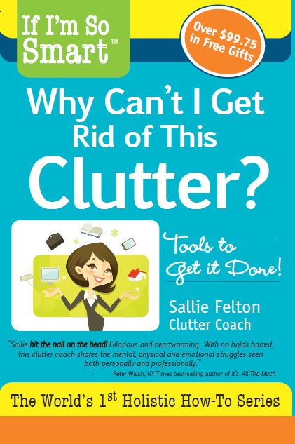 Review of my new book from the one & only Peter Walsh, Clutter Organizer Extraordinaire!